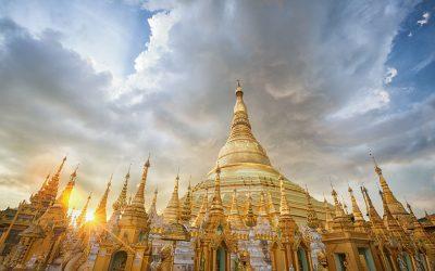 Yangon Shwedagon Pagoda 360 Panorama